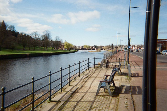 River Nith. Harman EZ400 with Kodak Ultramax 400