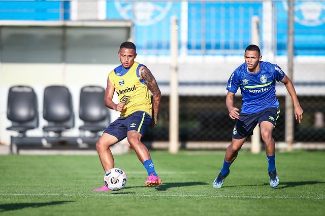 Treino Grêmio 03/05/2021