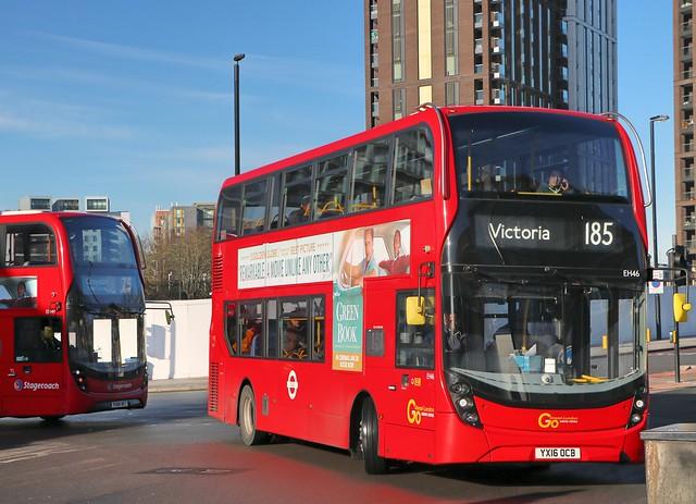 Go Ahead London Central - EH46 - YX16OCB