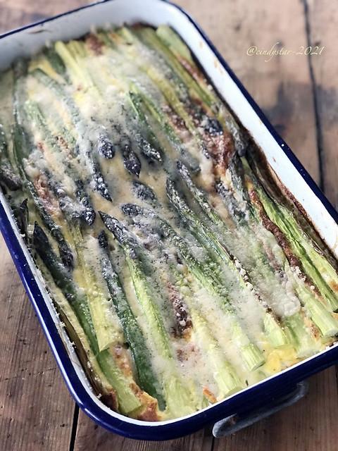 frittata di asparagi e patate al forno09