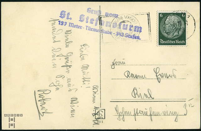 ArchivTappen233AAl3j689 Aufenthaltsort in der K.L.V., Wien, Österreich, 1930-1940er