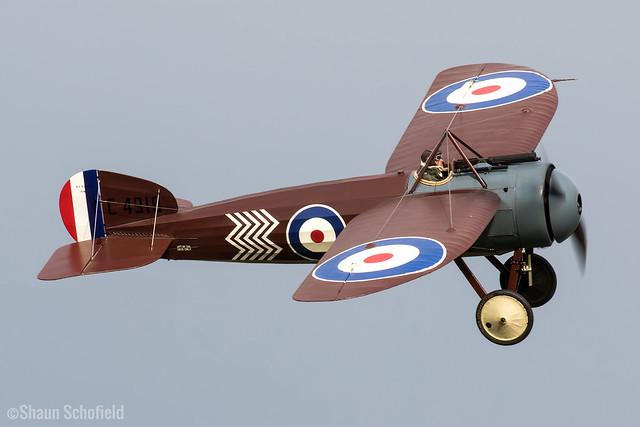Bristol M1C | C4918/G-BWJM | Shuttleworth Collection | Old Warden | 02/05/21
