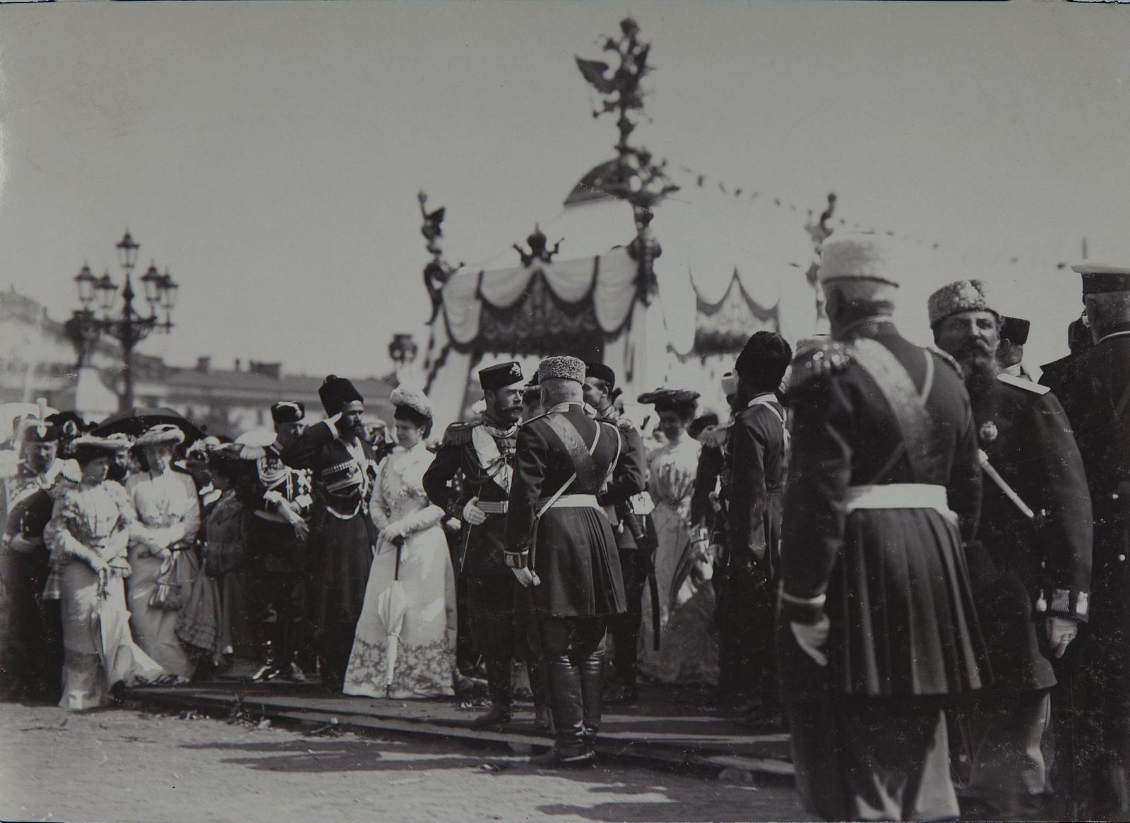 1903. 200-летие Санкт-Петербурга. У Сенатской площади