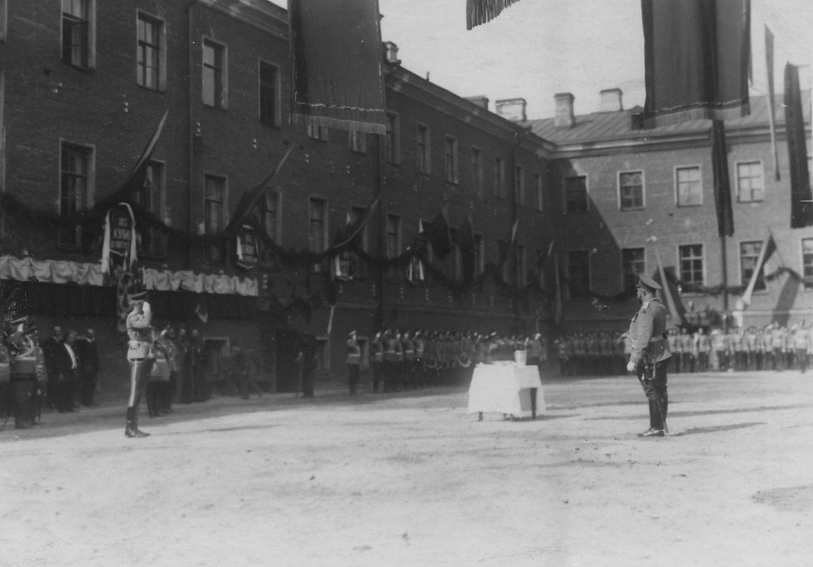 1913. Празднование 100-летнего юбилея Кульмского сражения