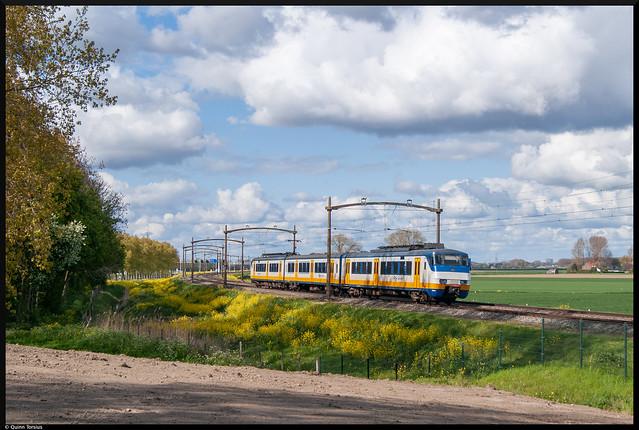 SGMm 2990 als SPR 6660 naar Nijmegen, 2 mei 2021