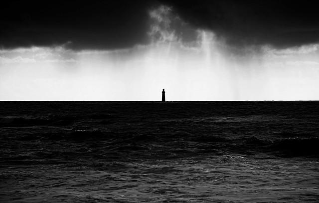 Lumière noire(4) le temps se gâte sur les Barges, Les Sables d'Olonne, Vendée F