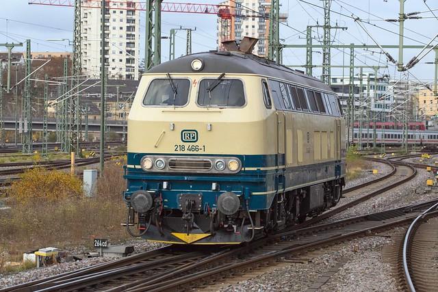 RP 218 466 Stuttgart Hbf
