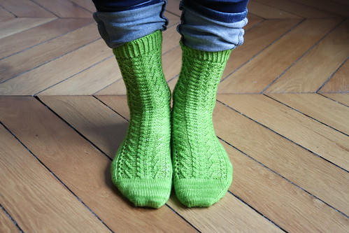Twist Spring socks