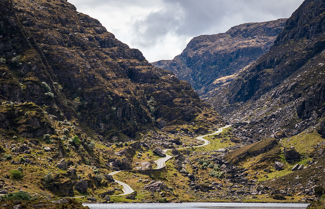 Gap of Dunloe - The only way is up