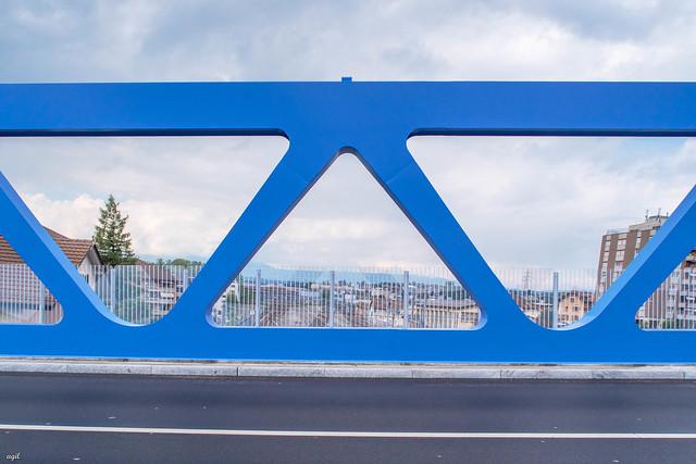 Pont-Bleu, Ecublens