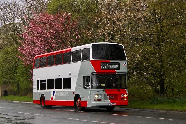 Northumbria Motor Services 369 / B693 BPU