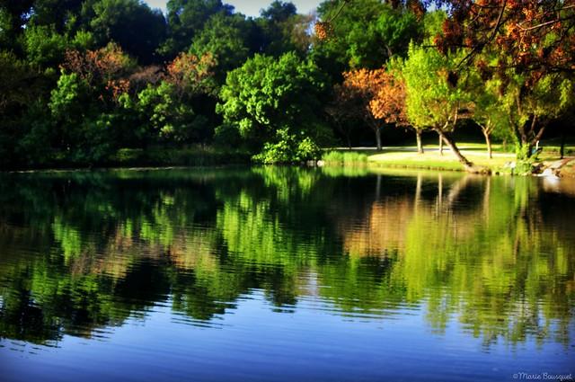 Lac du Soler en avril