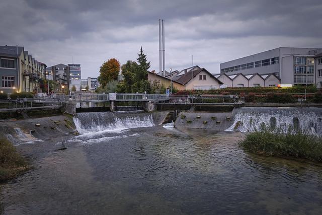 Biel/Bienne – River Schüss weir