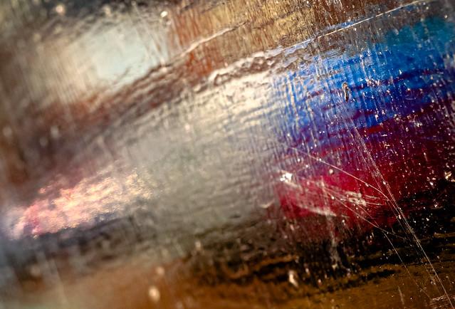 life and van, a blur...