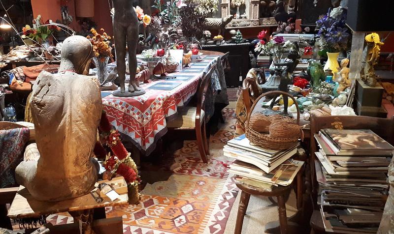 Margaret Olley's studio