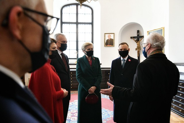 03.05.2021. Valsts prezidents Egils Levits darba vizītē apmeklē Polijas Republiku