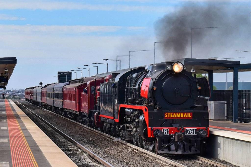 Steamrail Victoria - Rail and Sail Tour by Shawn Stutsel