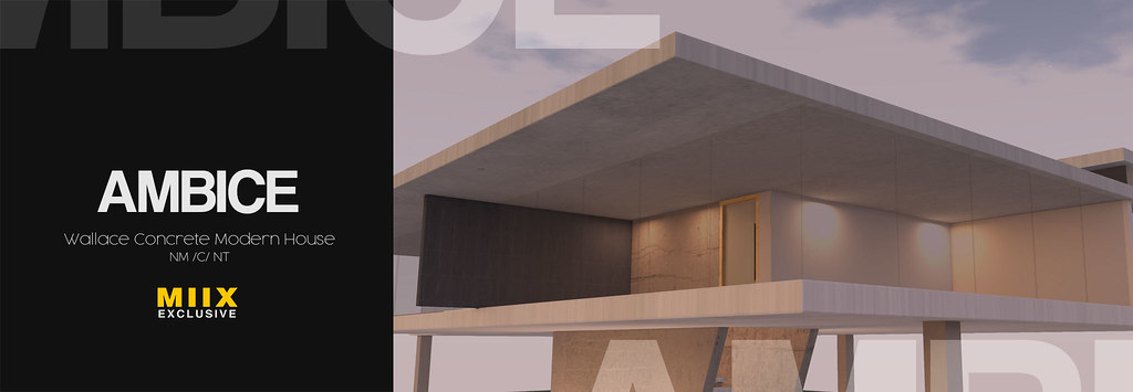 [AMBICE] - Wallace Concret Modern House