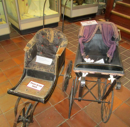 Baby Carriages, Fife Folk Museum, Ceres