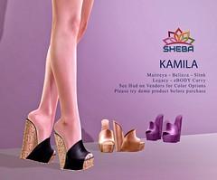 [Sheba] Kamila Wedges