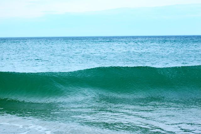 Teal Atlantic Ocean Wave 2021