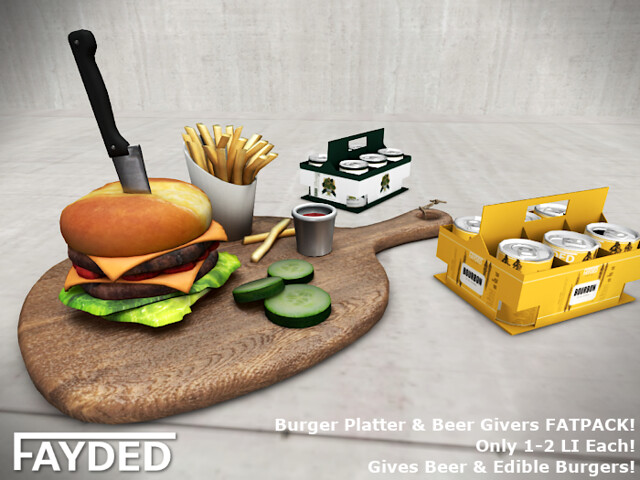 FAYDED – Beer n' Burgers Giver