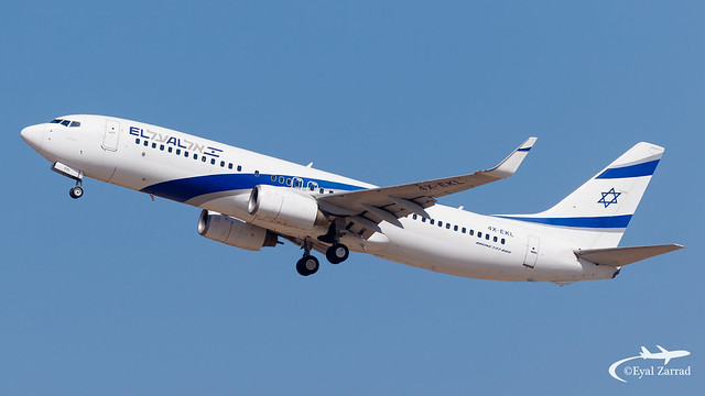 TLV - El Al Boeing 737-800 4X-EKL