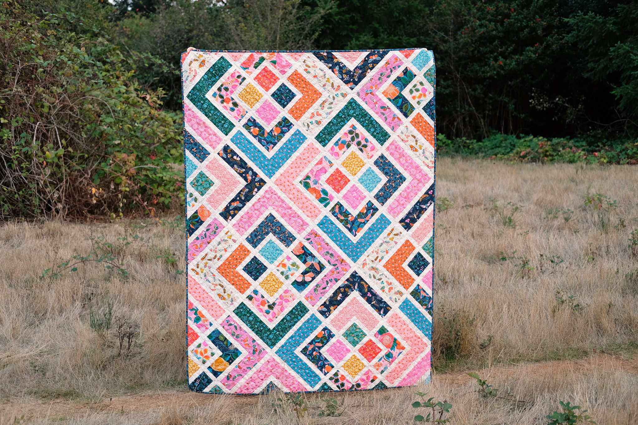 The Penny Quilt Pattern - Kitchen Table Quilting