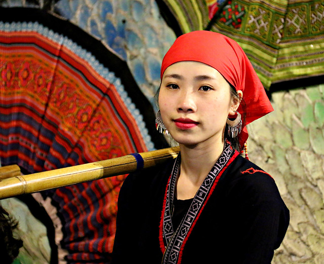 Young Hmong woman