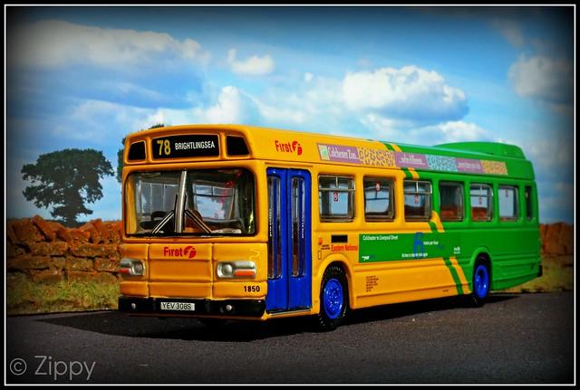 EFE Leyland National : First Eastern National - 1850 YEV308S