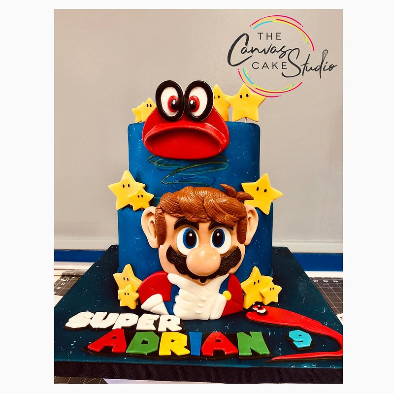 Cake by The Canvas Cake Studio