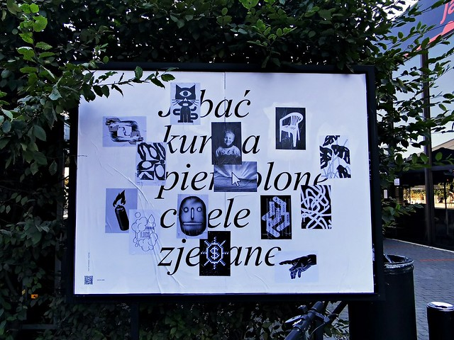 """Galeria Jednego Plakatu """"Krzaki"""""""