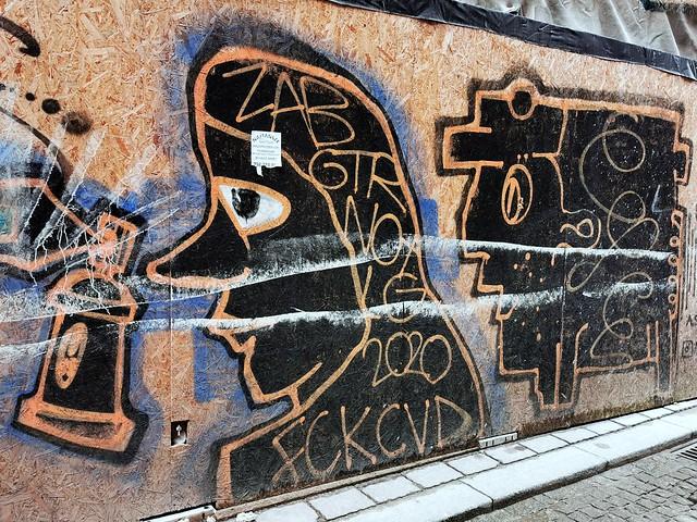 Alexander Sovtysik, Graffiti
