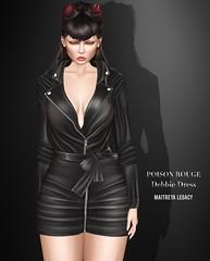 POISON ROUGE Debbie Dress @COSMOPOLITAN