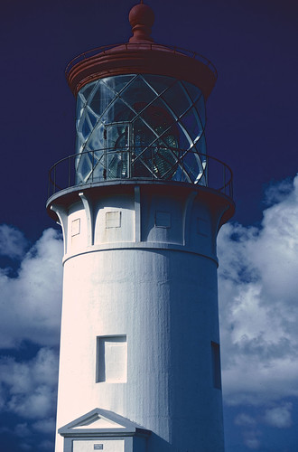 Kilauea Lighthouse - Kodachrome, 1986 (1)