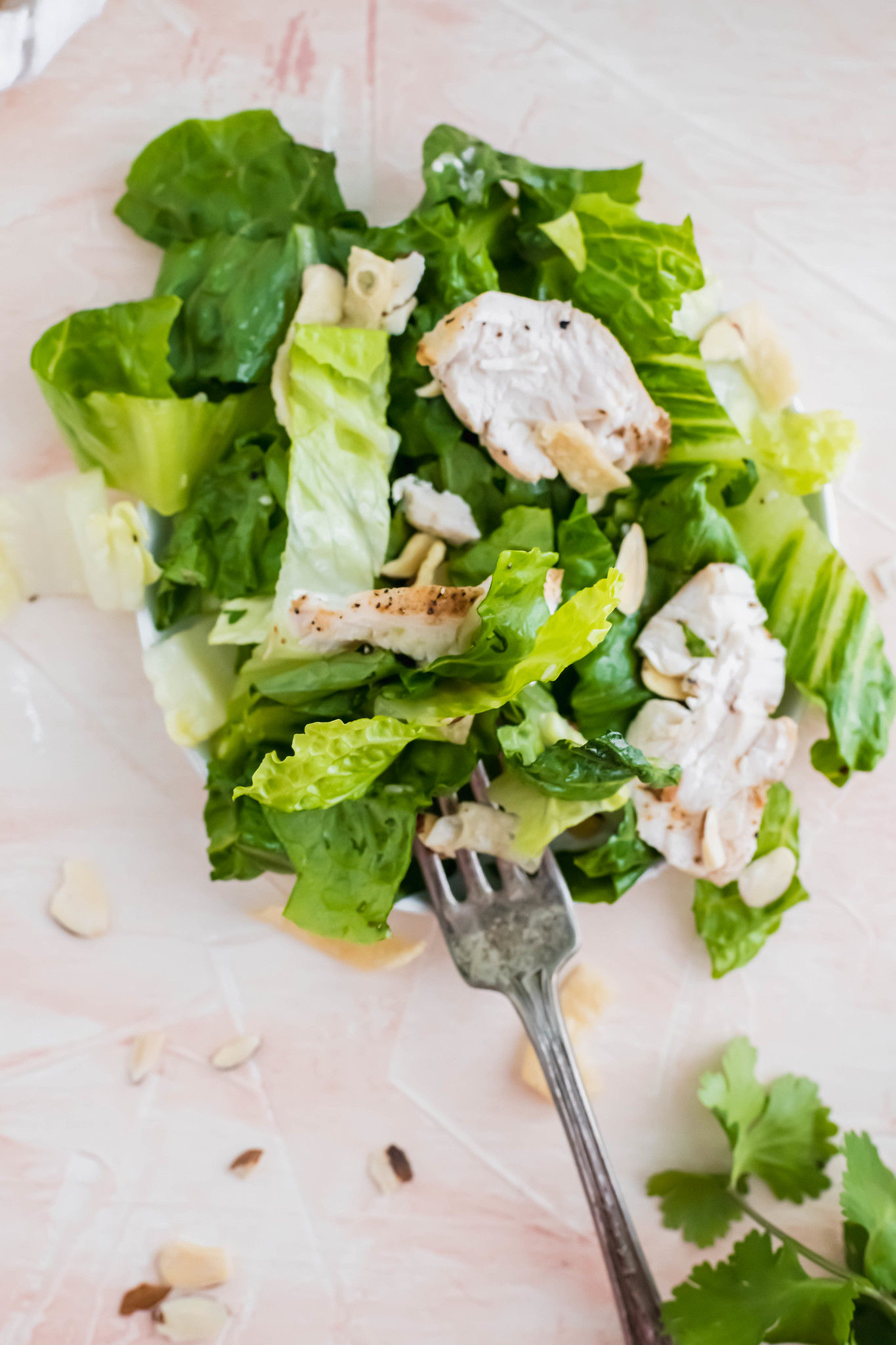 Make your favorite salad at home with this recipe for Panera's Asian Sesame Chicken Salad. It tastes JUST like the restaurant version at a fraction of the cost.