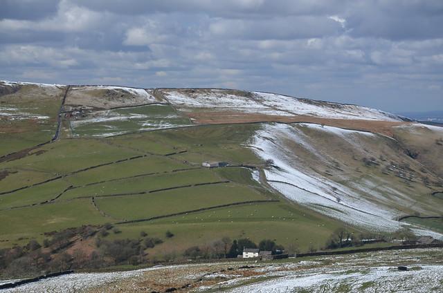 Dusting of Snow, Peak District National Park, Derbyshire, England.