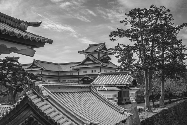 BW Kanazawa Castle, Japan