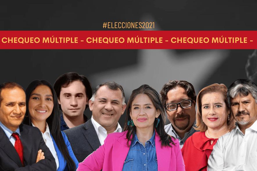 Chequeo múltiple: Propuestas de las y los candidatos a la Gobernación de la Región del Biobío