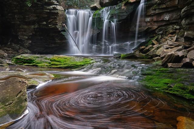 Elakala Falls Blackwater SP West Virginia