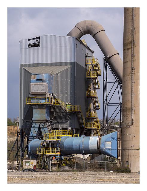 ENCI - clinker factory (1, calcination oven)