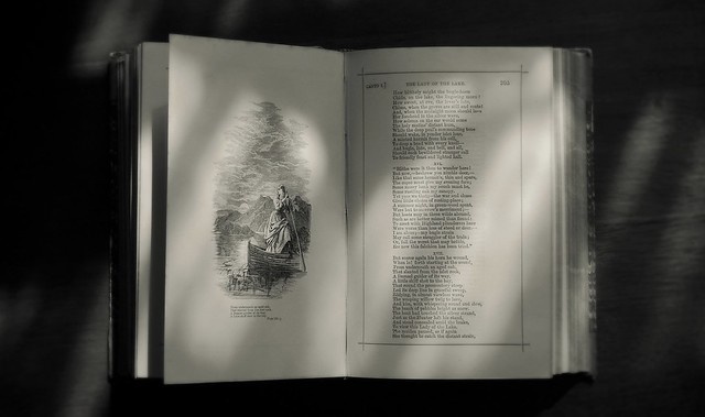 Lady Of The Lake (Sir Walter Scott Vintage Poetry Book)