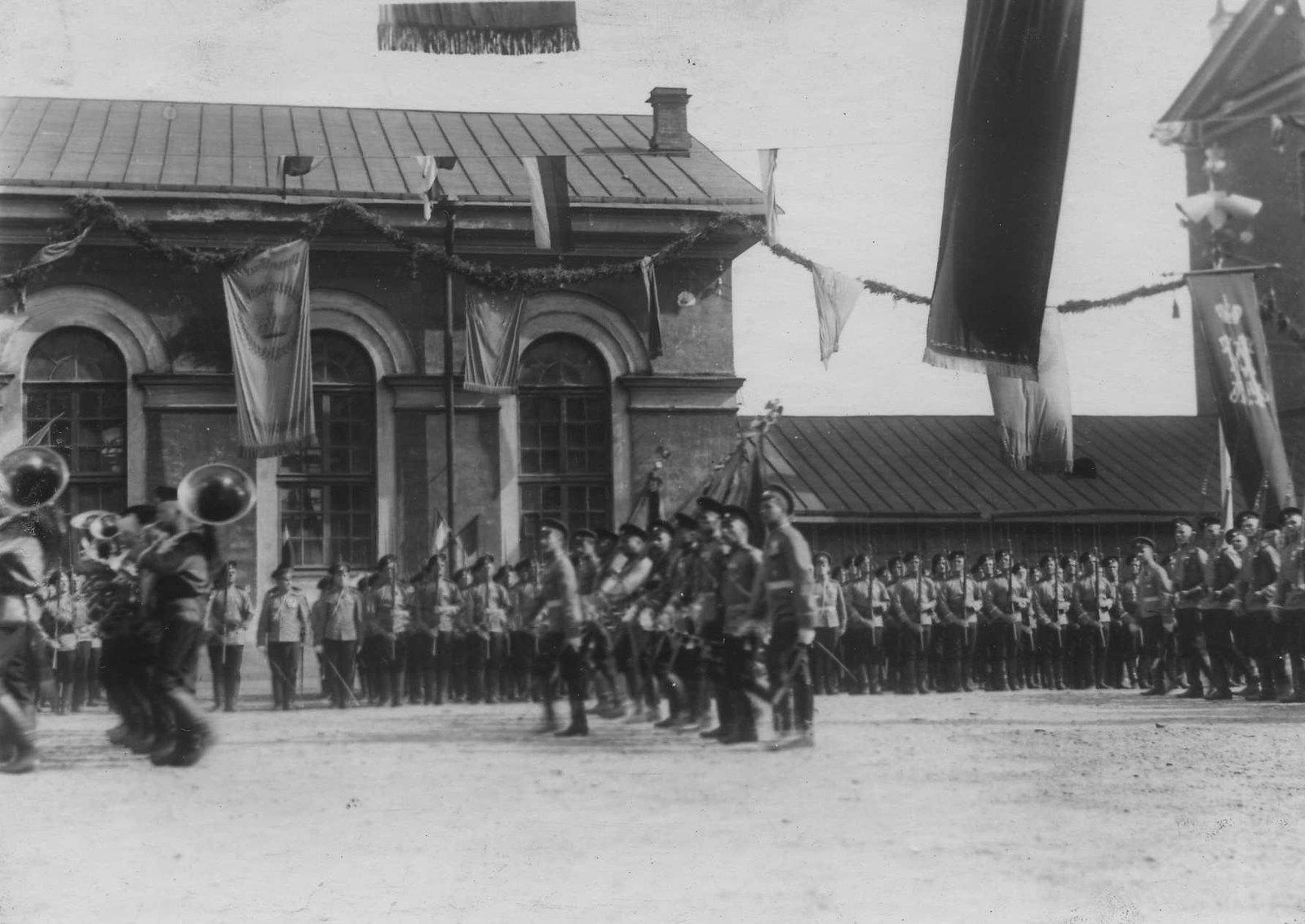 1913. Празднование 100-летнего юбилея Кульмского сражения.