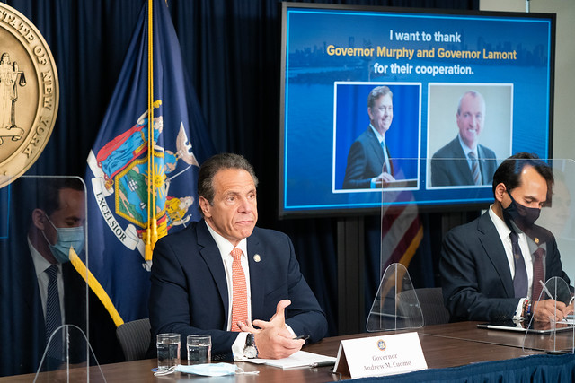 Governor Cuomo, Governor Murphy and Governor Lamont Announce Significant Easing of COVID-19 Pandemic Restrictions on Businesses, Gatherings and Venues