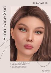 NEW! Virna face skin [Catwa HDPRO]