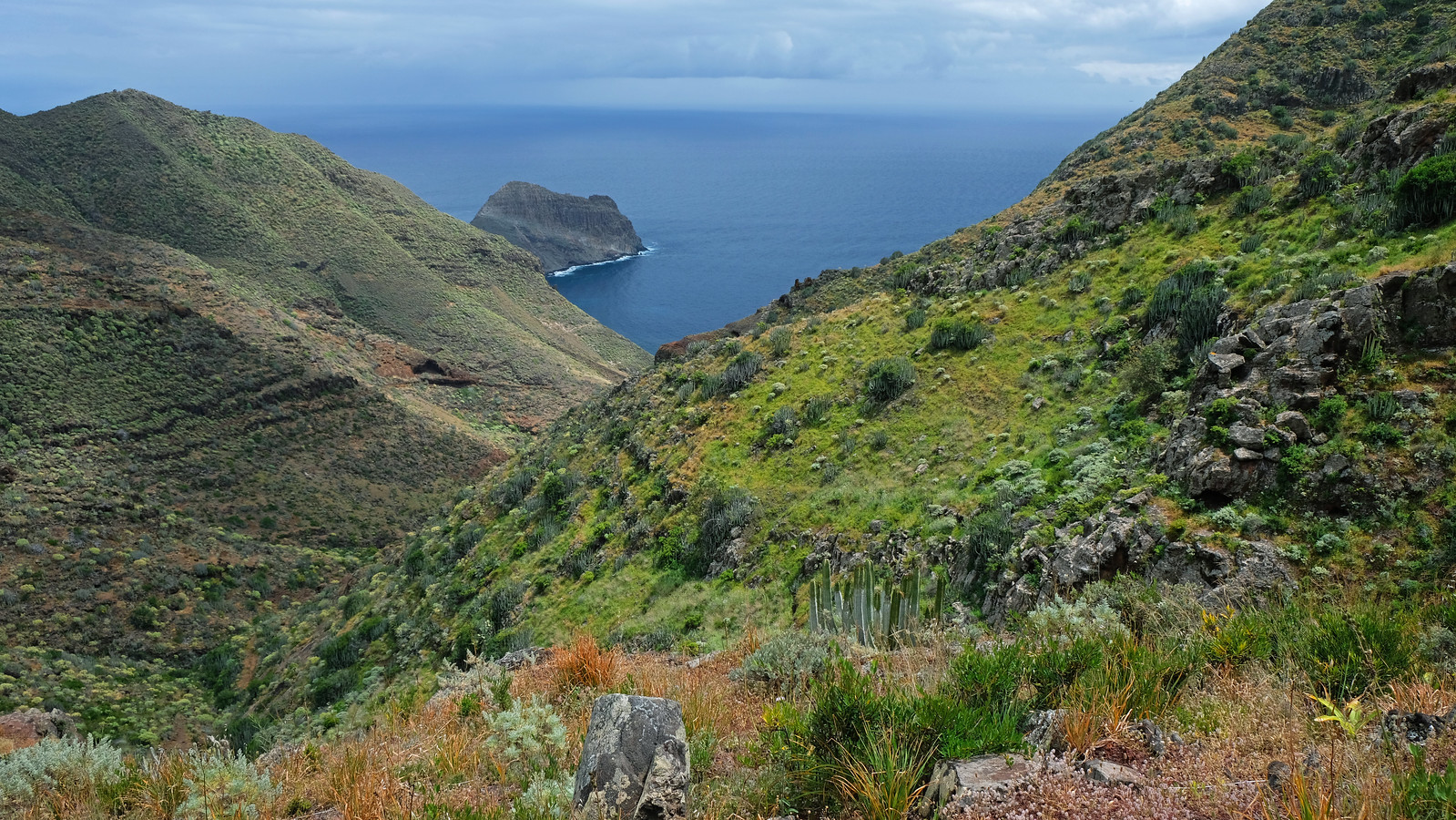 Day Hike To Antequera Beach, Tenerife, Canary Islands, Spain