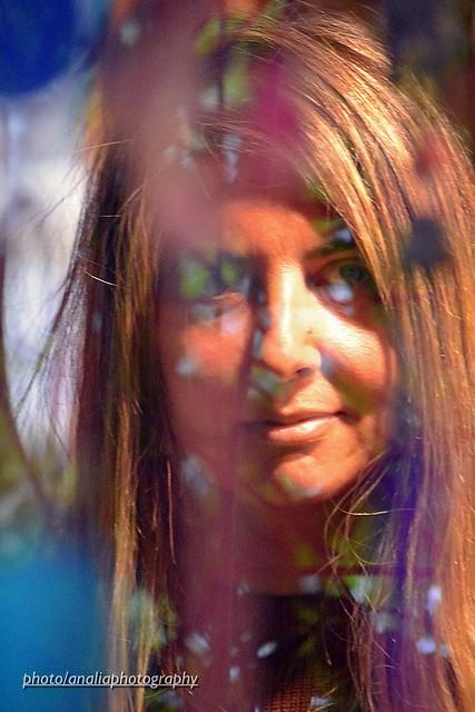 Retrato multicolor