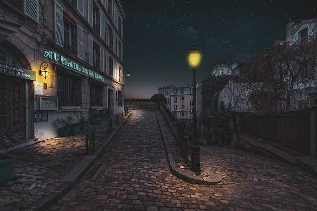 Butte Montmartre-Paris