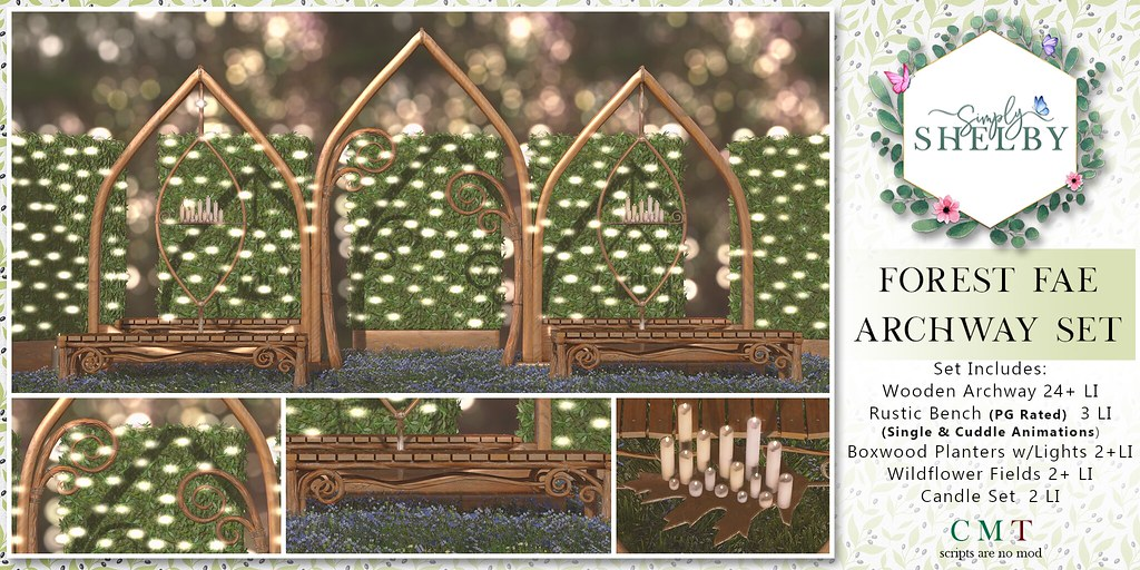 Simply Shelby Forest Fae Archway Set