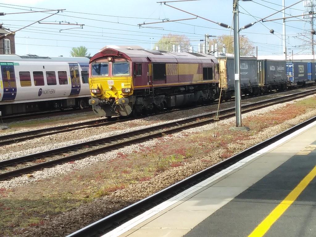 DB Cargo Class 66 66099
